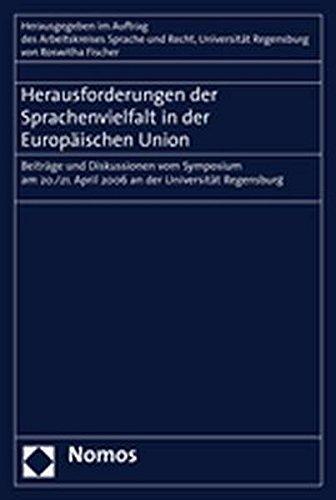 Herausforderungen der Sprachenvielfalt in der Europäischen Union: Roswitha Fischer
