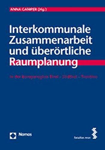 9783832927141: Interkommunale Zusammenarbeit und überörtliche Raumplanung: in der Europaregion Tirol - Südtirol - Trentino