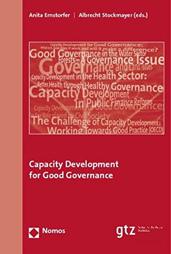 9783832928711: Capacity Development for Good Governance