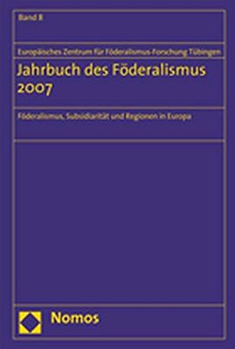 Jahrbuch des Föderalismus 2007