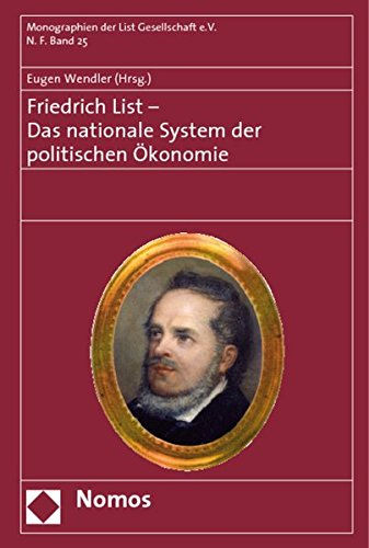 9783832930059: Friedrich List - Das nationale System der politischen Ökonomie