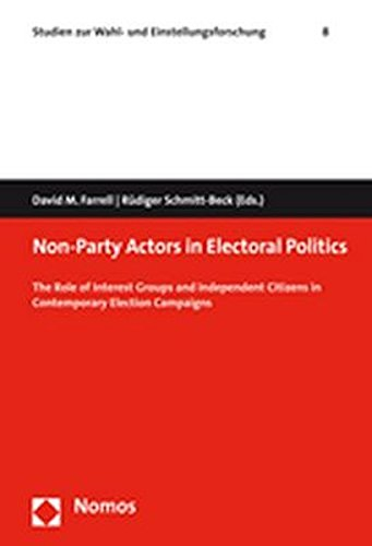 9783832932510: Non-Party Actors in Electoral Politics: The Role of Interest Groups and Independent Citizens in Contemporary Election Campaigns (Studien zur Wahl- und Einstellungsforschung)