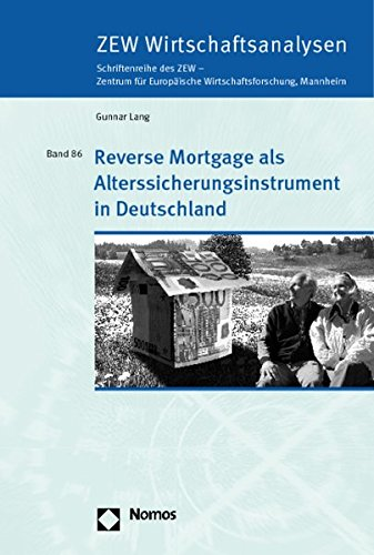 9783832932909: Reverse Mortgage als Alterssicherungsinstrument in Deutschland