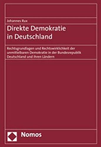 Direkte Demokratie in Deutschland: Johannes Rux