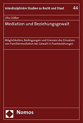 Mediation und Beziehungsgewalt: Ulla Gläßer