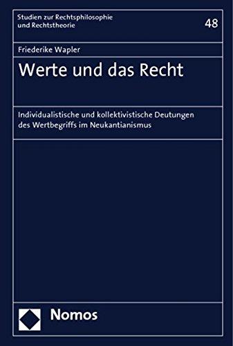 Werte und das Recht: Friederike Wapler