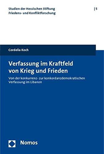 Verfassung im Kraftfeld von Krieg und Frieden: Cordelia Koch