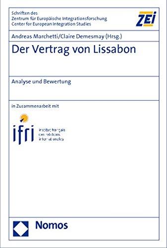 Der Vertrag von Lissabon: Andreas Marchetti
