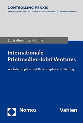 Internationale Printmedien - Joint Ventures: Boris Alexander Kühnle