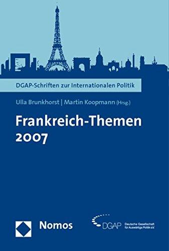 9783832939410: Frankreich-Themen 2007