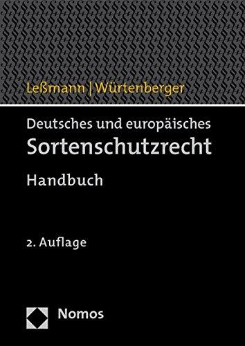 9783832940270: Deutsches und europäisches Sortenschutzrecht: Handbuch