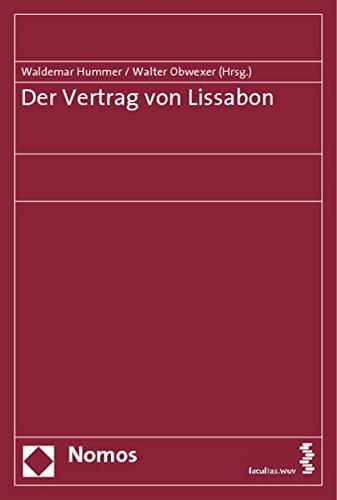 9783832941697 Der Vertrag Von Lissabon Waldemar Hummer
