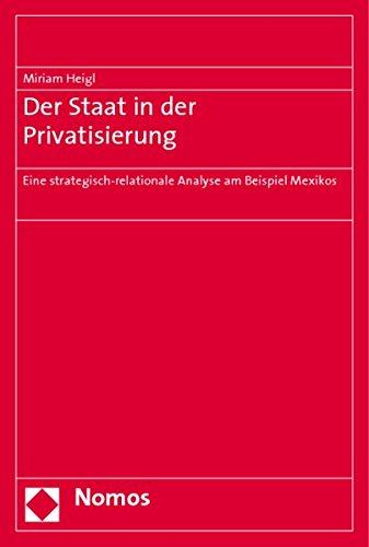 Der Staat in der Privatisierung: Miriam Heigl