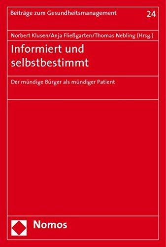 Informiert und selbstbestimmt: Norbert Klusen