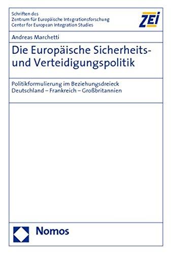 Die Europäische Sicherheits- und Verteidigungspolitik: Andreas Marchetti