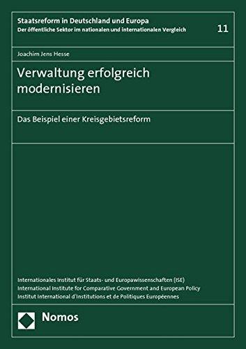 Verwaltung erfolgreich modernisieren: Joachim Jens Hesse