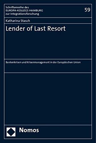 Lender of Last Resort: Katharina Stasch