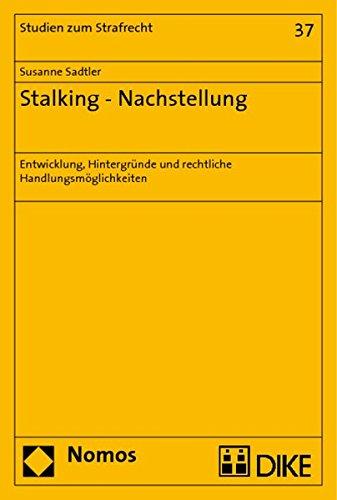 9783832949457: Stalking - Nachstellung