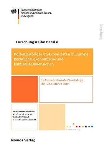 9783832950439: Rollenleitbilder und -realitäten in Europa: Rechtliche, ökonomische und kulturelle Dimensionen