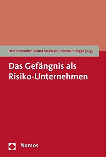9783832951603: Das Gefängnis als Risiko-Unternehmen