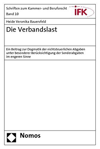 Die Verbandslast: Heide Veronika Bauersfeld