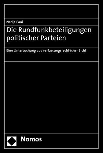 Die Rundfunkbeteiligungen politischer Parteien: Nadja Paul