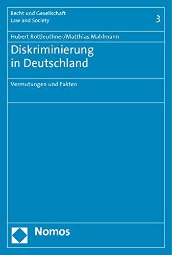 9783832955786: Diskriminierung in Deutschland: Vermutungen und Fakten