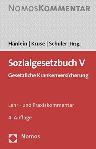 9783832956424: Sozialgesetzbuch V: Gesetzliche Krankenversicherung (German Edition)
