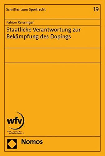 Staatliche Verantwortung zur Bekämpfung des Dopings: Fabian Reissinger