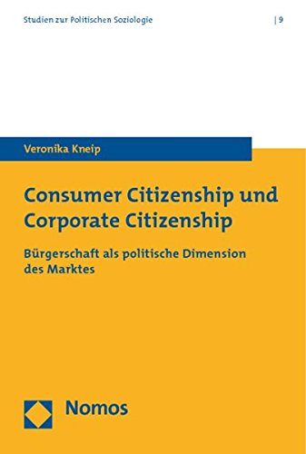Consumer Citizenship und Corporate Citizenship: Veronika Kneip