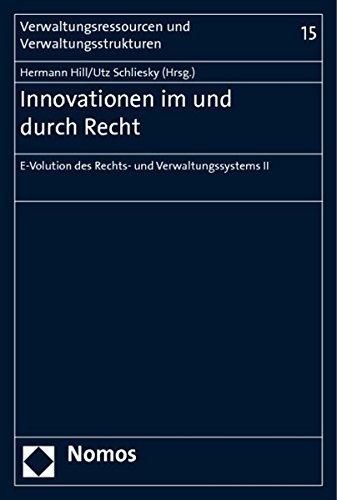 Innovationen im und durch Recht: Hermann Hill