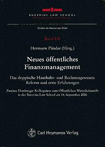 Neues öffentliches Finanzmanagement: Hermann Pünder