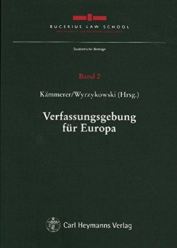 Verfassungsgebung für Europa: Jörn Axel Kämmerer