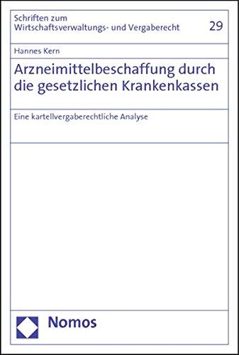 Arzneimittelbeschaffung durch die gesetzlichen Krankenkassen: Hannes Kern