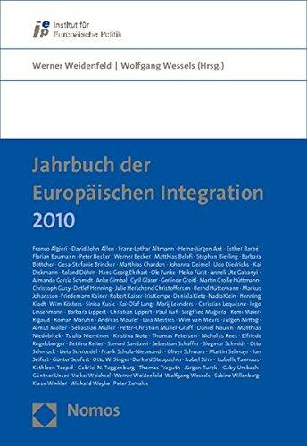 9783832962760: Jahrbuch der Europäischen Integration 2010