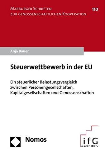 Steuerwettbewerb in der EU: Anja Bauer