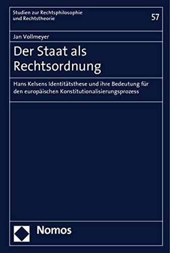 Der Staat als Rechtsordnung: Jan Vollmeyer
