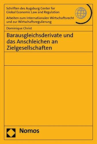 9783832965075: Barausgleichsderivate und das Anschleichen an Zielgesellschaften
