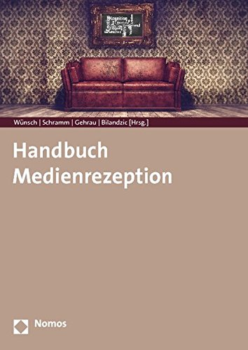9783832966102: Handbuch Medienrezeption (German Edition)