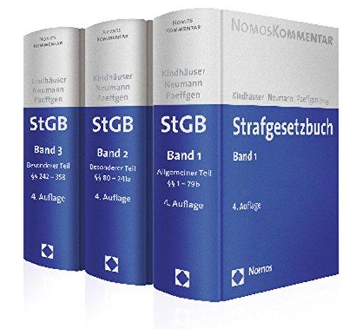Strafgesetzbuch (StGB), Kommentar, 3 Bde.: Urs Kindhäuser