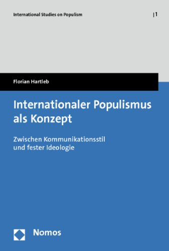 9783832968892: Internationaler Populismus als Konzept