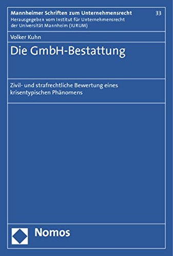 Die GmbH-Bestattung: Volker Kuhn