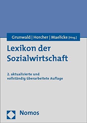 9783832970079: Lexikon der Sozialwirtschaft