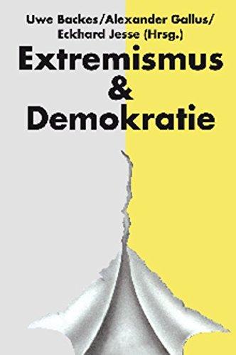 Jahrbuch Extremismus & Demokratie (E & D): Uwe Backes