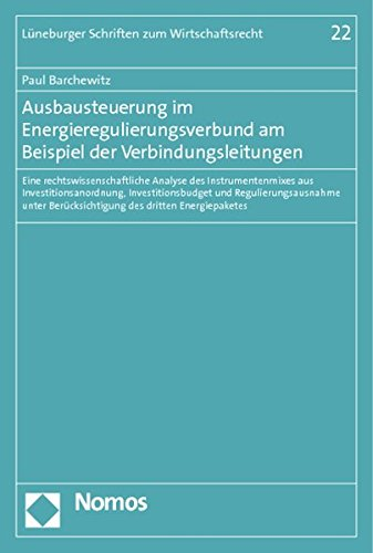 Ausbausteuerung im Energieregulierungsverbund am Beispiel der Verbindungsleitungen: Paul Barchewitz