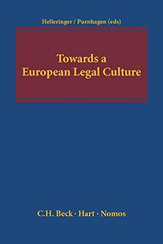 9783832971953: Towards a European Legal Culture