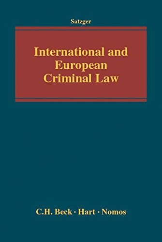 9783832972677: International and European Criminal Law