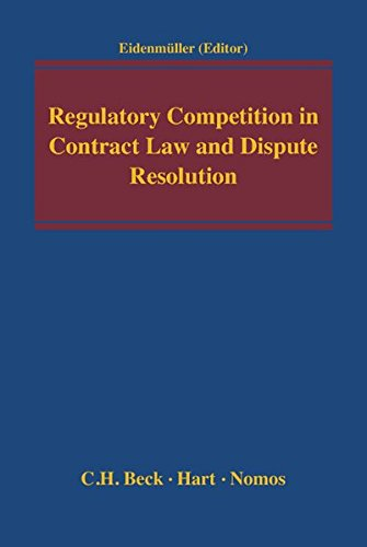 9783832972684: Regulatory Competition in Contract Law and Dispute Resolution
