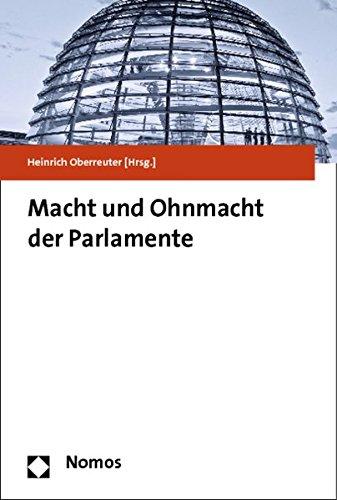 9783832972943: Macht Und Ohnmacht Der Parlamente (German Edition)