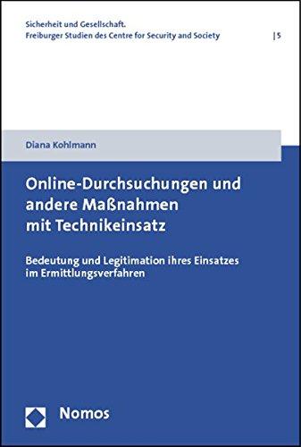 Online-Durchsuchungen und andere Maßnahmen mit Technikeinsatz: Diana Kohlmann